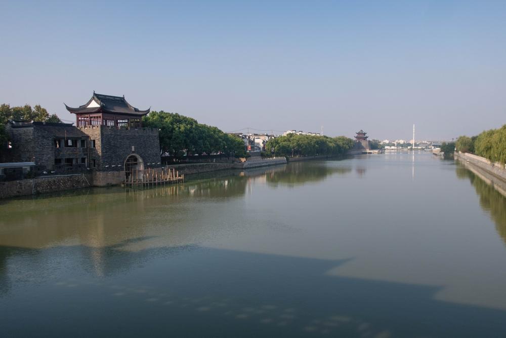 Kaiserkanal in Suzhou / Jiangsu / China