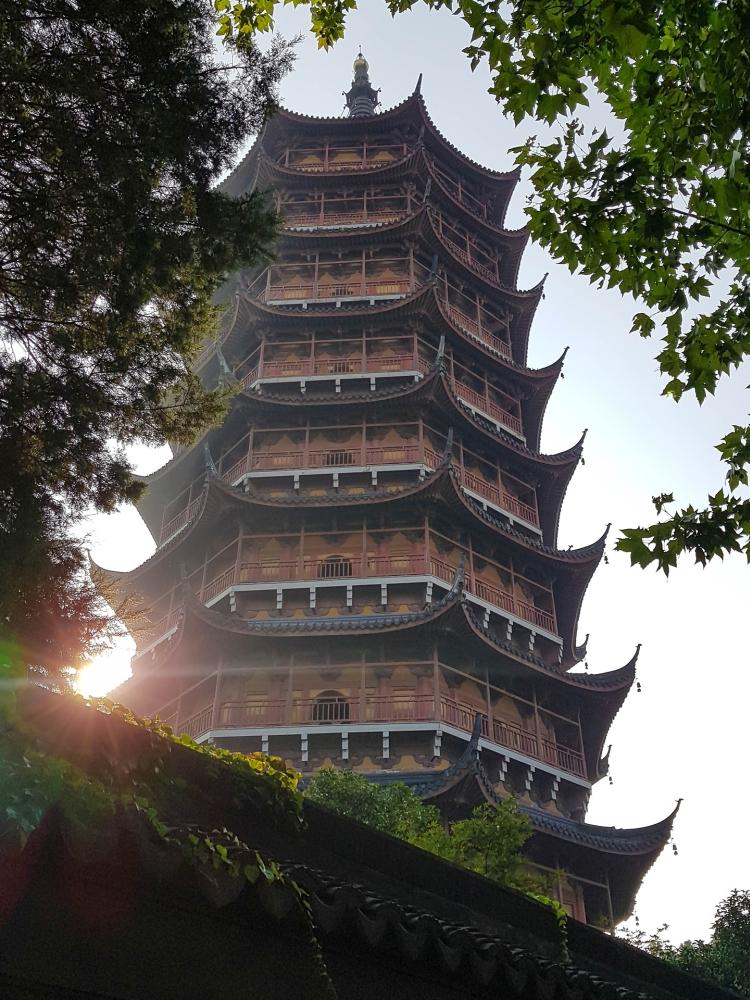 Beisi Ta in Suzhou / Jiangsu / China