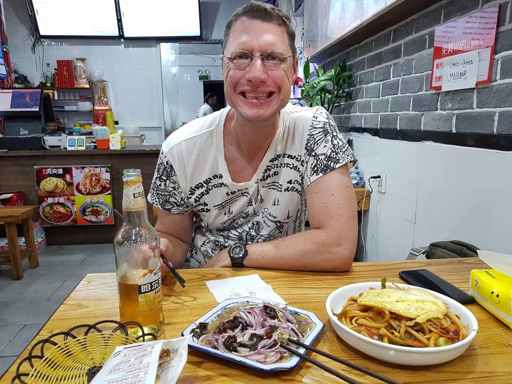 Essen in Suzhou / Jiangsu / China