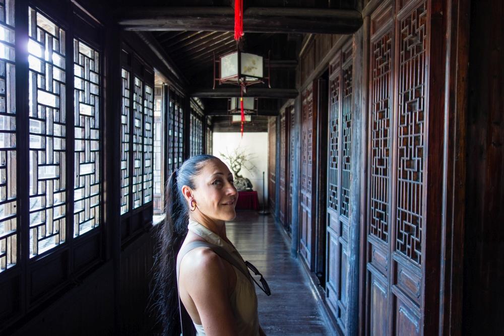 Gengle Tang in der Altstadt von Tongli / Jiangsu / China
