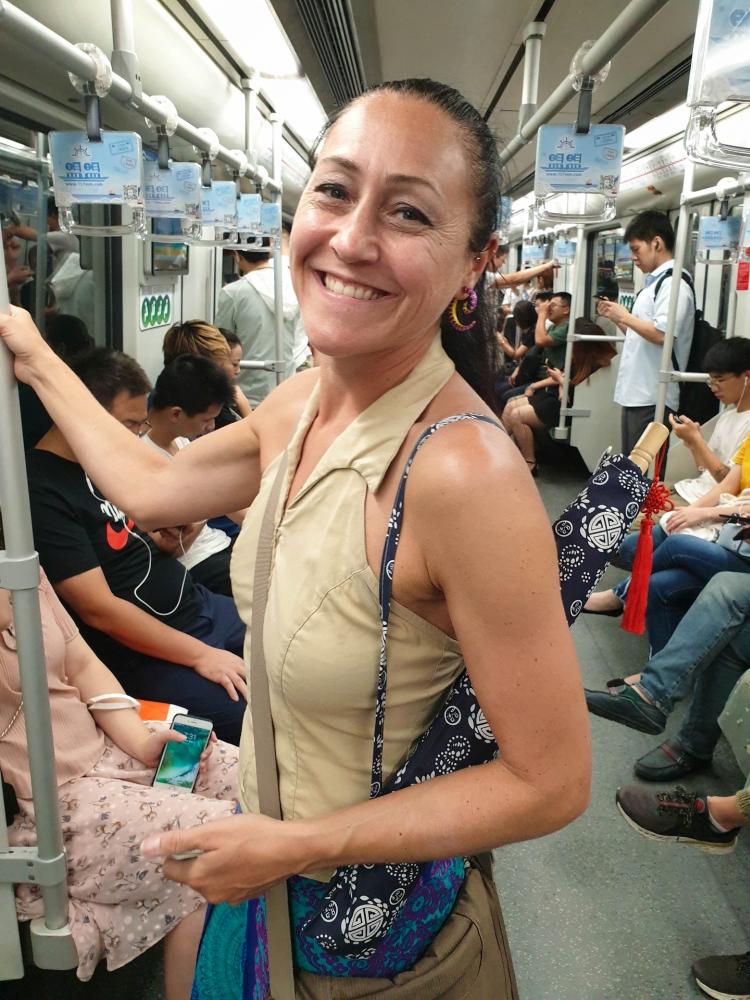 Metro in Shanghai / China