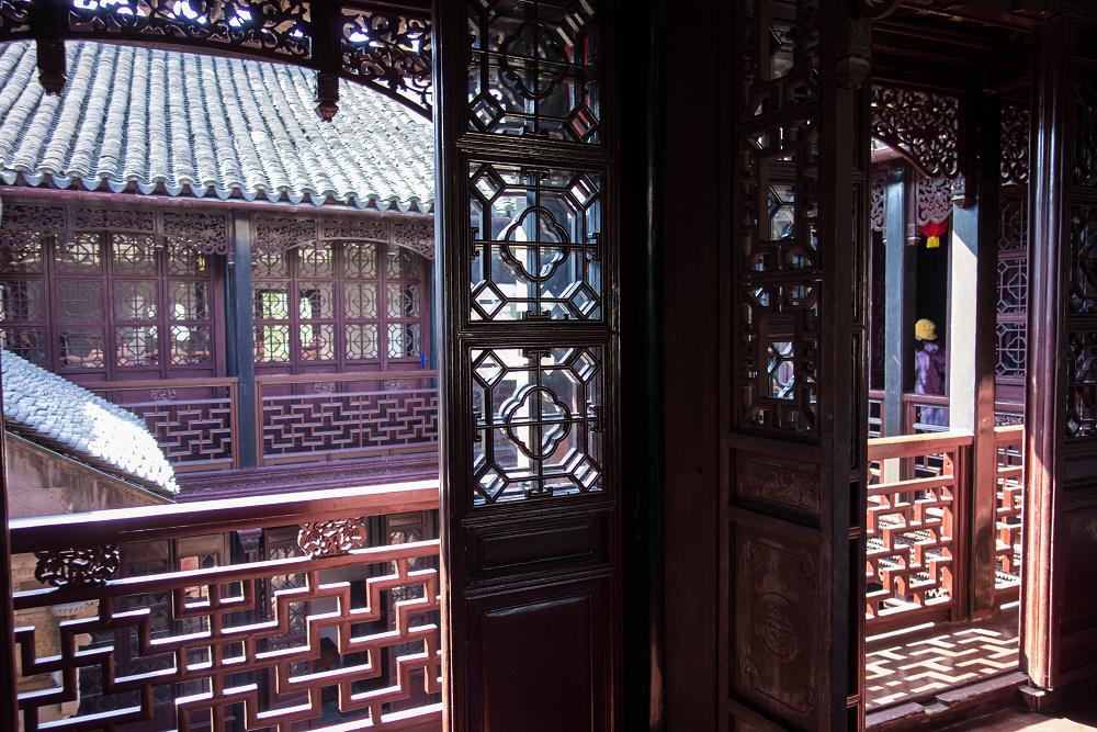 Jiayin Halle in der Altstadt von Tongli / Jiangsu / China