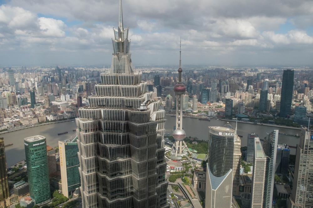Park Hyatt im SWFC in Pudong / Shanghai / China