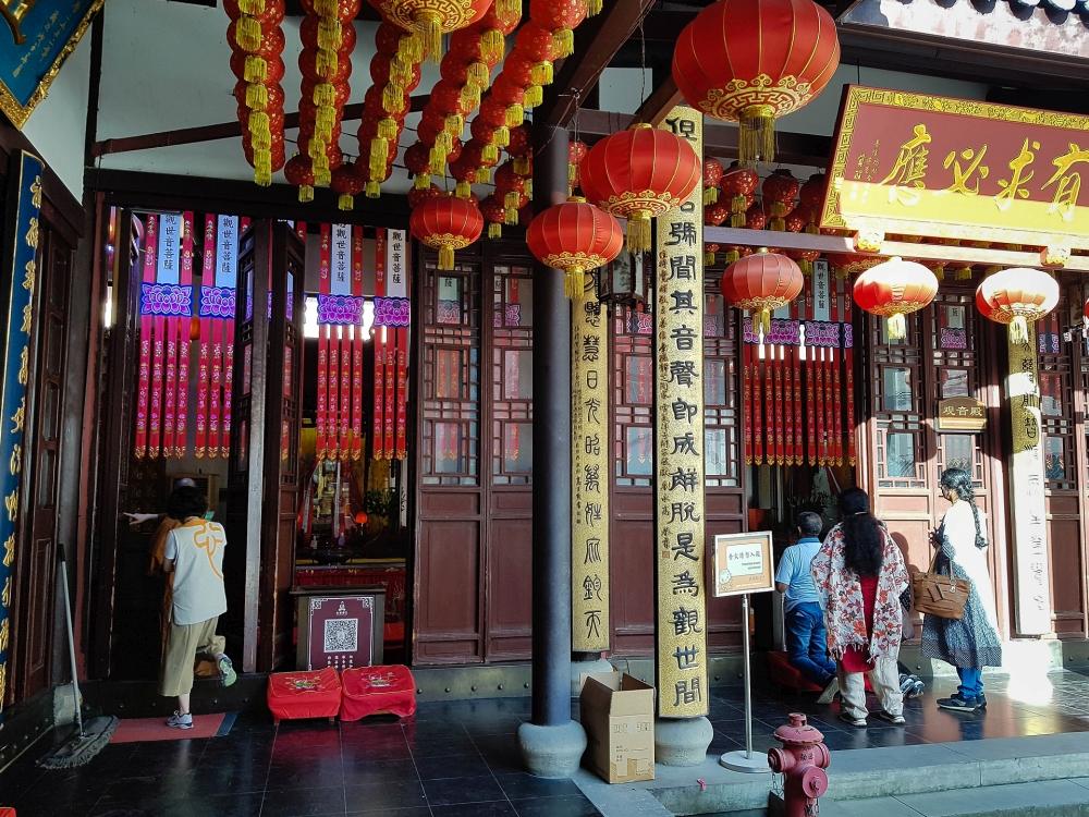 Jadebuddha-Tempel in Shanghai / China