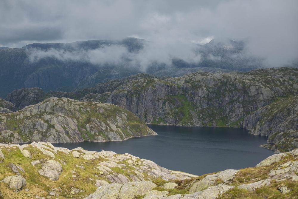 Lysevegen in Norwegen