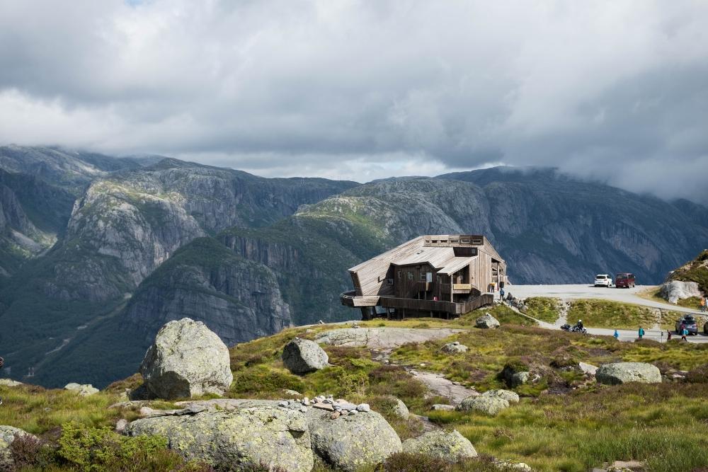 Kierag am Lysevegen in Norwegen