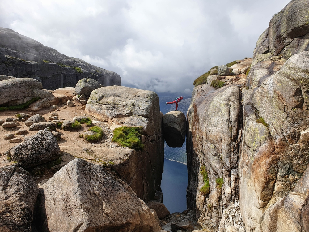 Wanderung zum Kieragbolten in Norwegen