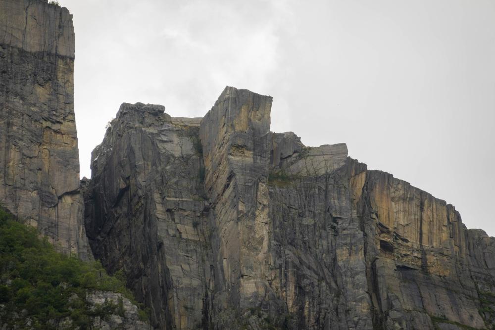 Preikestolen am Lysefjord in Norwegen