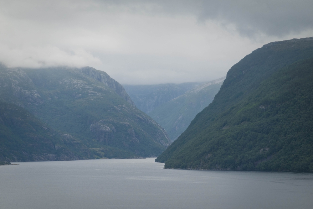 Ryfylkevegen in Norwegen