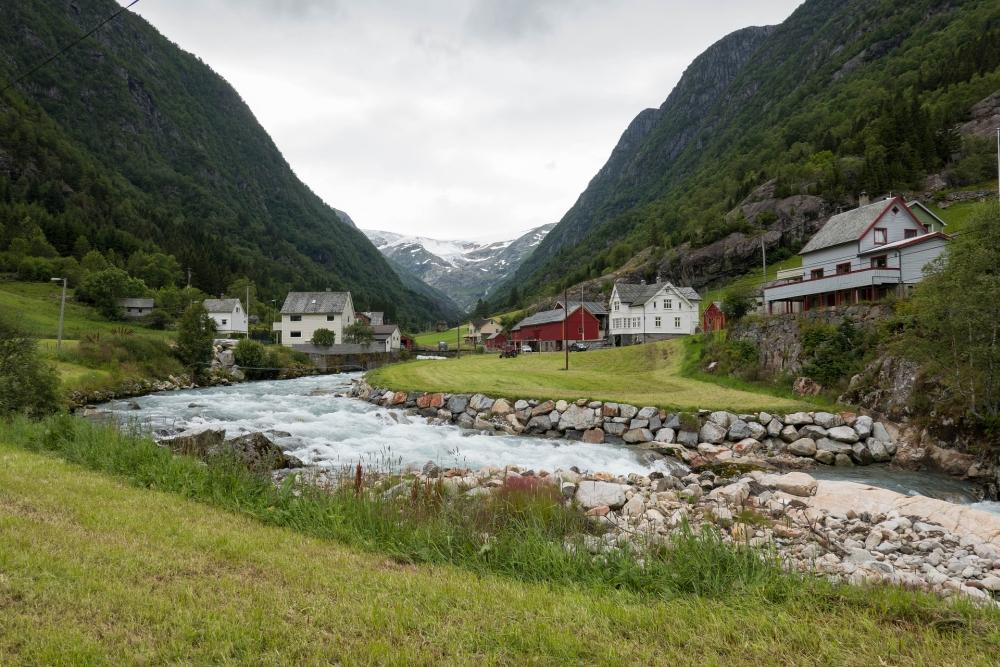 Buarbreen in Norwegen