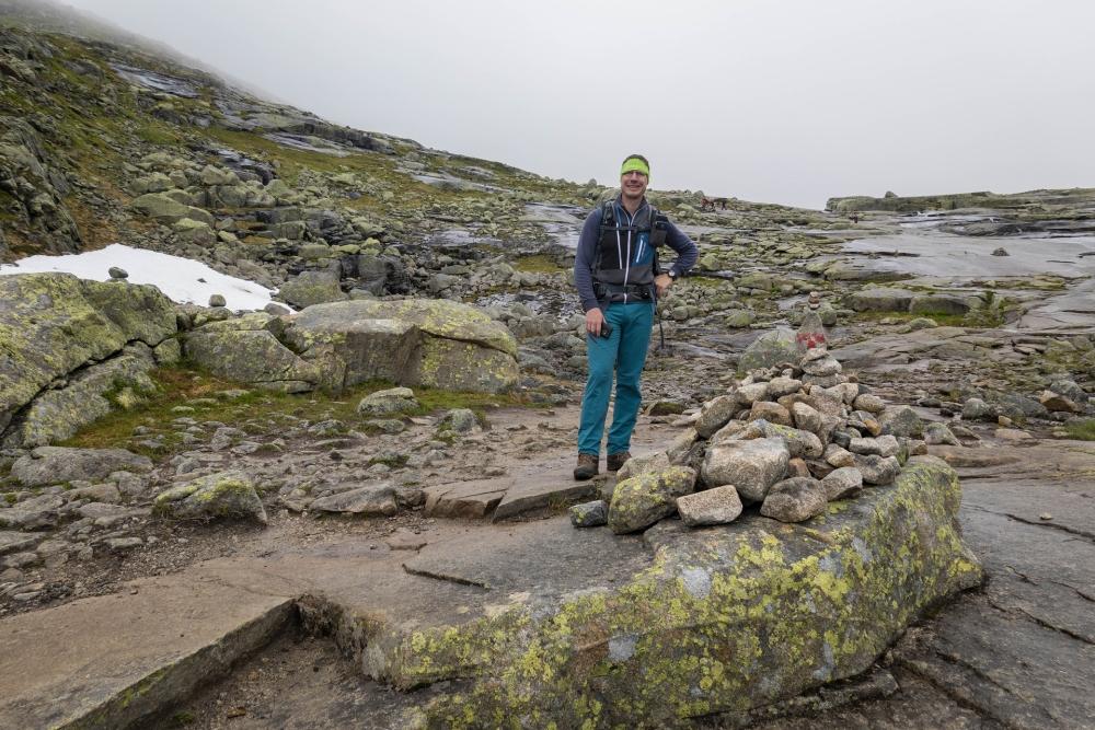 Wanderung zur Trolltunga in Norwegen