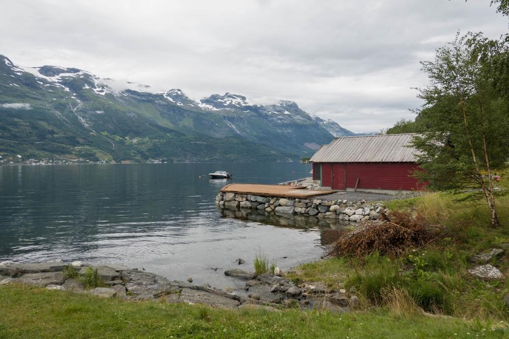 Sørfjord in Norwegen