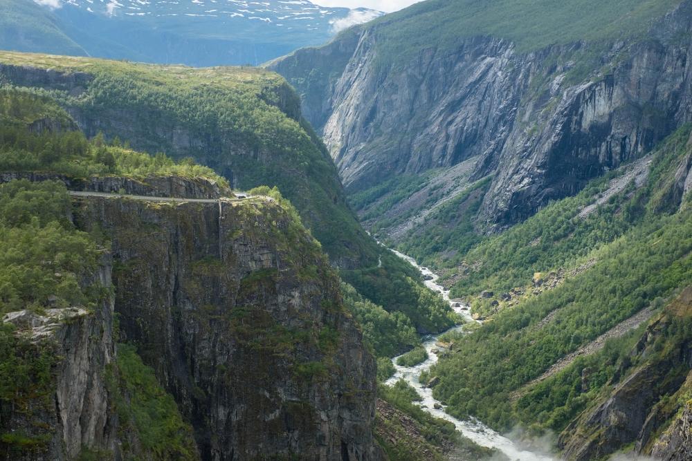 Vøringsfoss in Norwegen