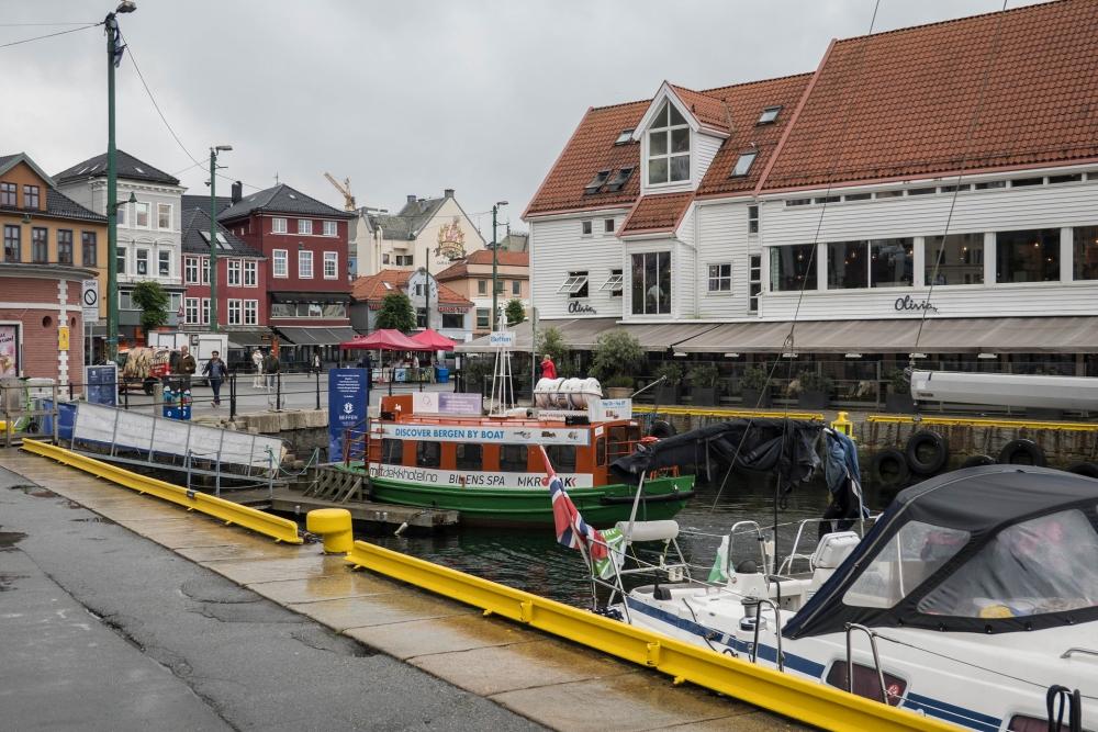 Torget in Bergen in Norwegen