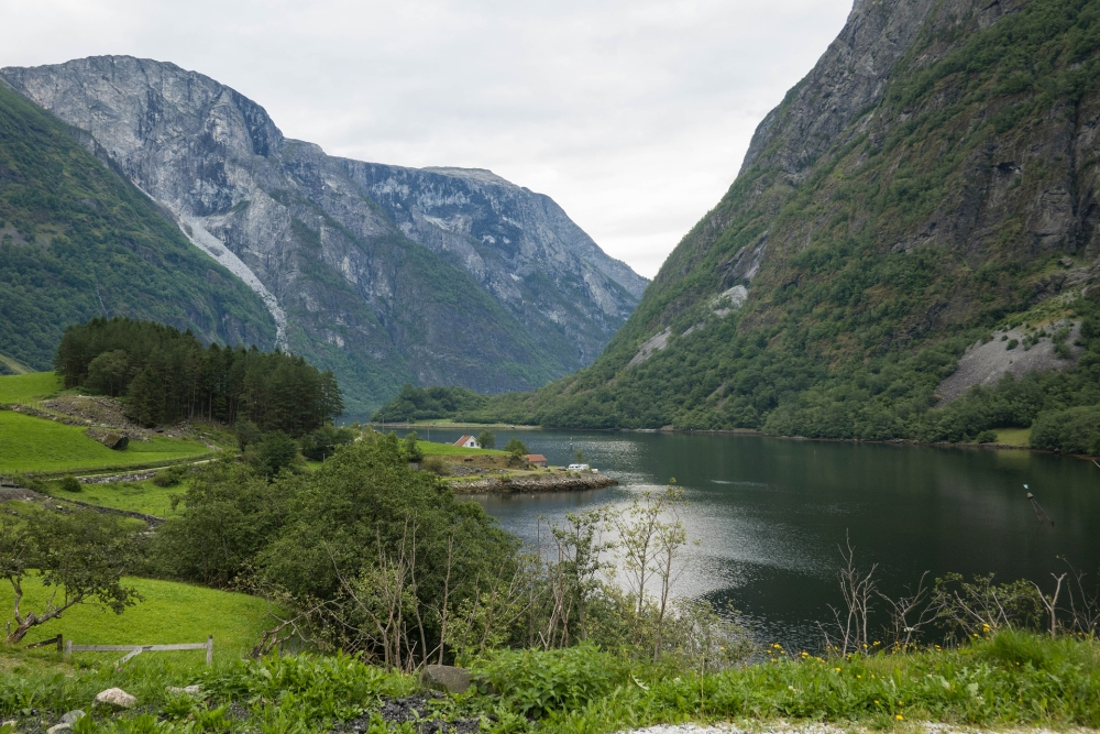 Bakka am Nærøyfjord in Norwegen