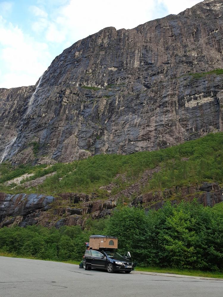 Nærøydalen in Norwegen