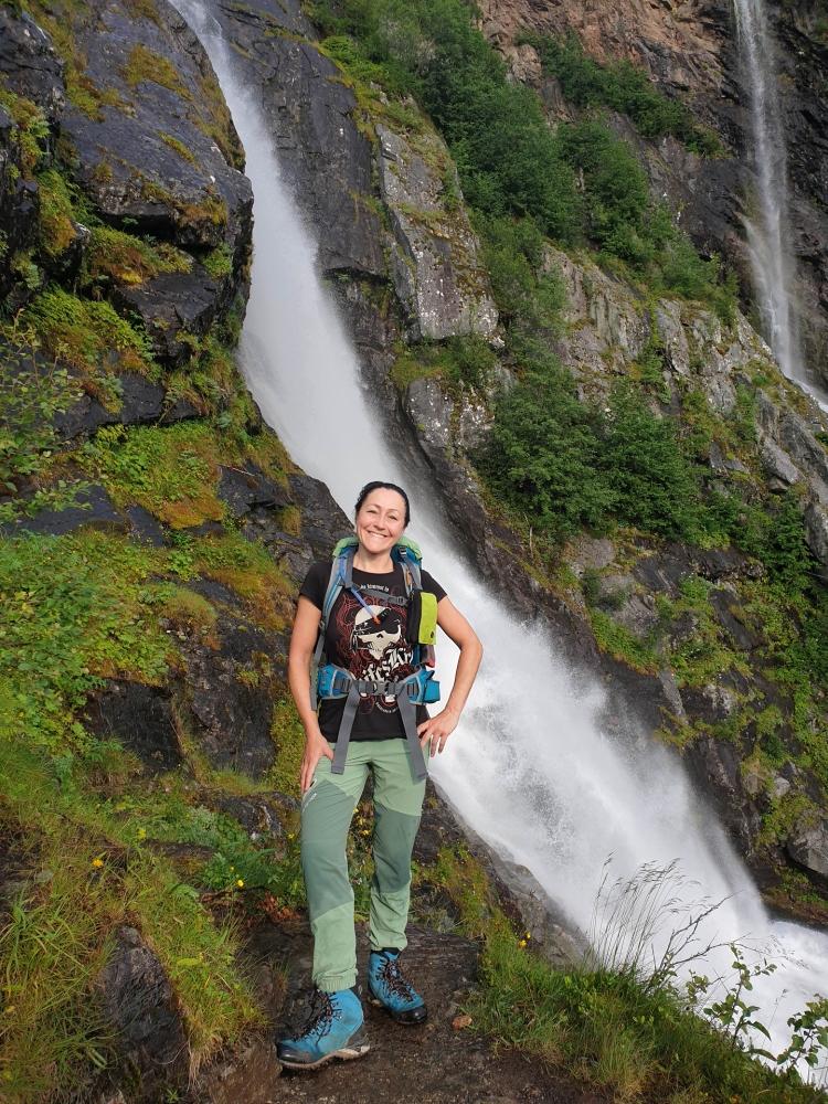 Rimstigen am Nærøyfjord in Norwegen