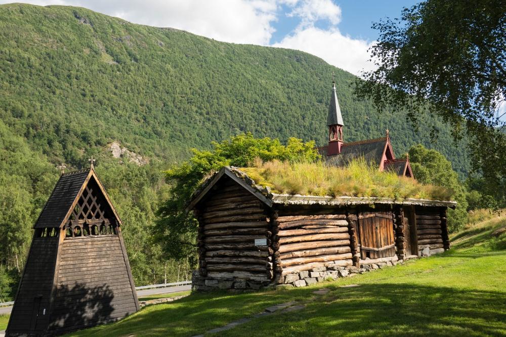 Stabkirche Borgund in Norwegen