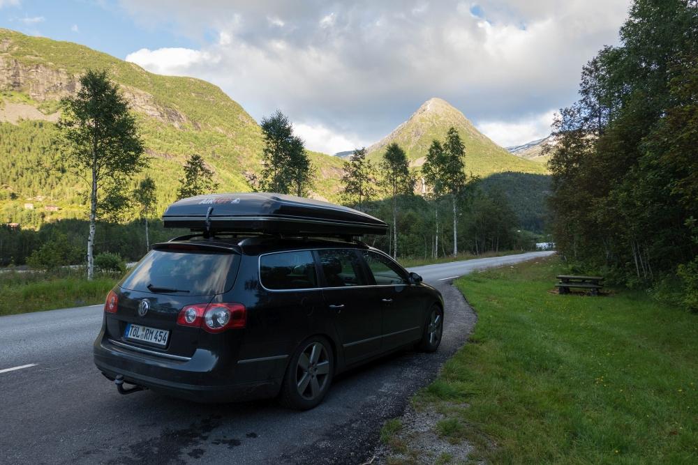 Jostedalen in Norwegen