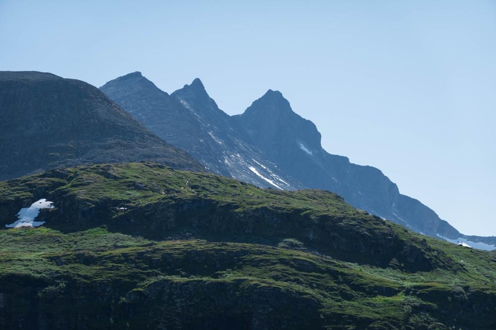 Sognefjellsvegen in Norwegen