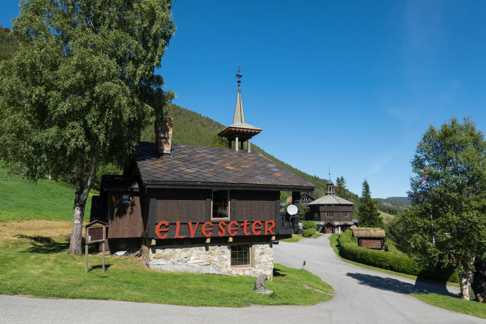 Elveseter-Hotel am Sognefjellsvegen in Norwegen