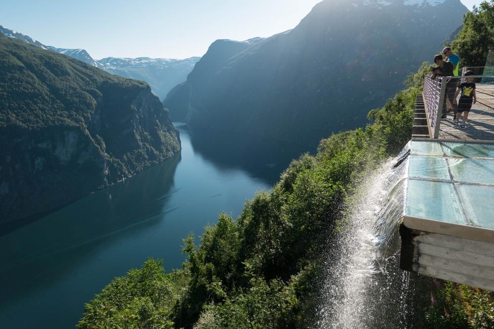 Geirangerfjord in Norwegen