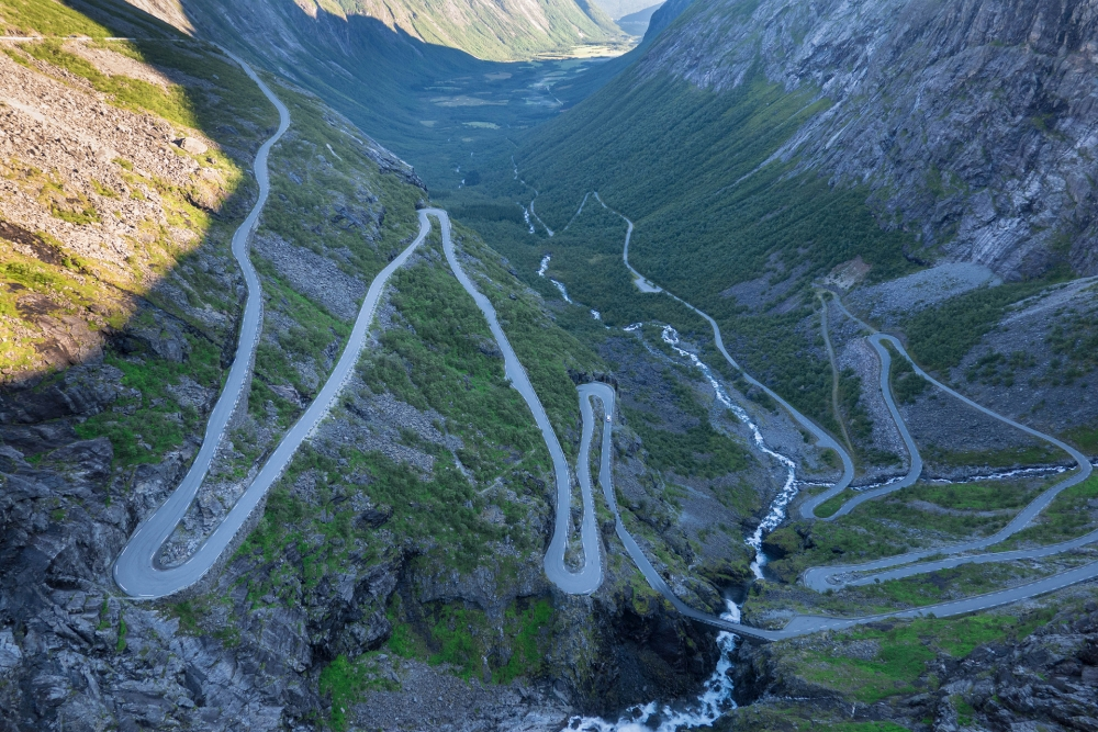 Trollstigen in Norwegen