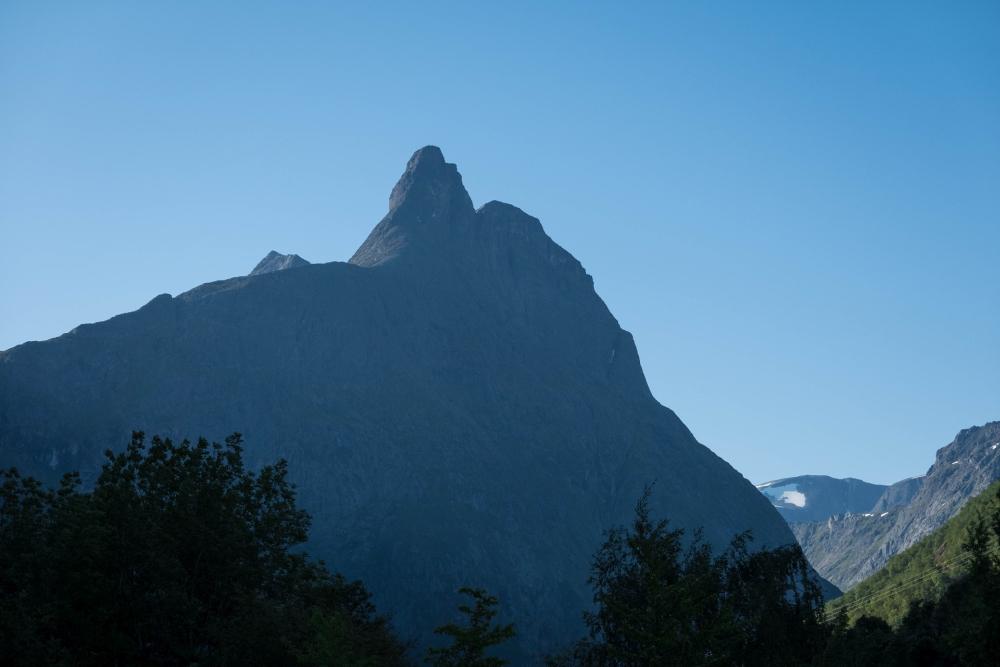 Romsdalshorn in Romsdalen in Norwegen