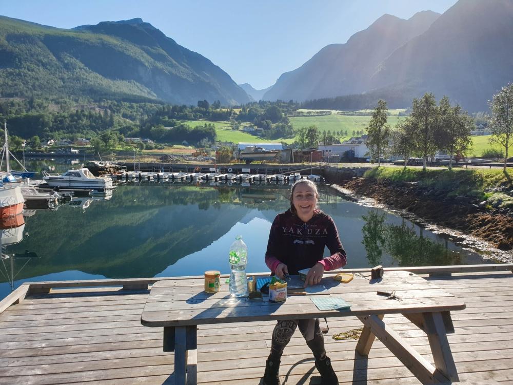 Romsdalsfjord in Norwegen