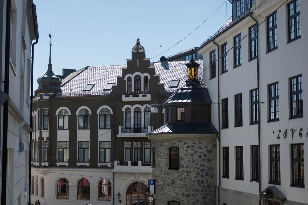 Kongensgate in Ålesund in Norwegen