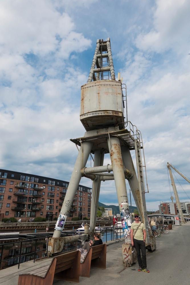 Nedere Elvehavn in Trondheim - Trøndelag in Norwegen