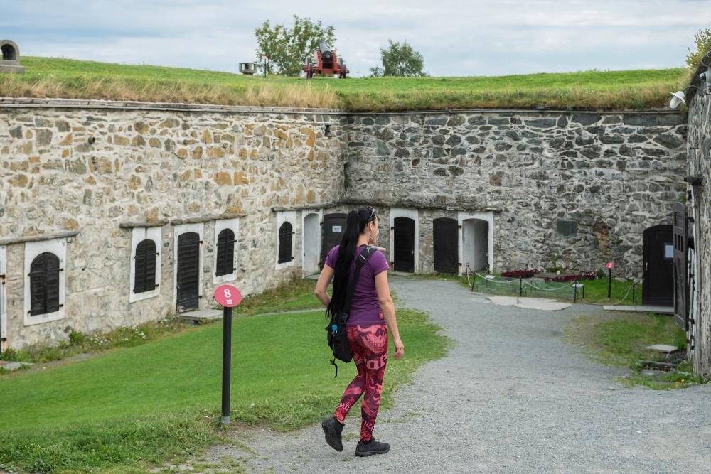 Festung Kristiansten in Trondheim - Trøndelag in Norwegen