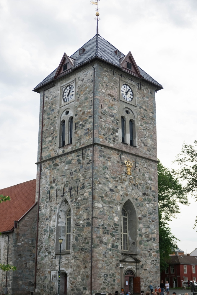 Vår Frue Kirke - auf der Øre-Halbinsel in Trondheim - Trøndelag in Norwegen
