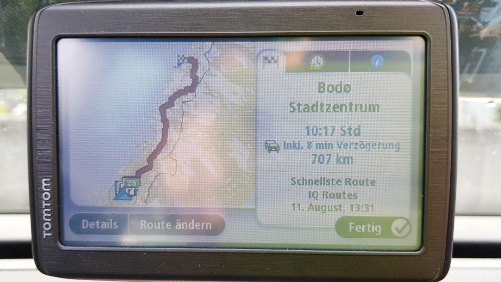 von Trondheim nach Bodø - in Norwegen