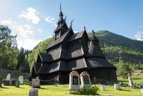 Stabkirche Borgund im Lærdalen in Norwegen / Copyright by doros-reiseblog.de