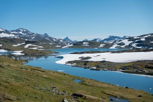 Jotunheimer Berge am Sognefjellsvegen in Norwegen / Copyright by doros-reiseblog.de