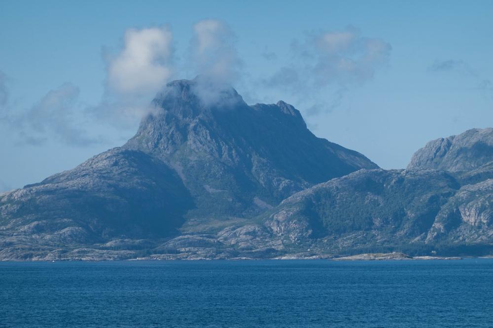 Fähre von Bodø auf die Lofoten in Norwegen