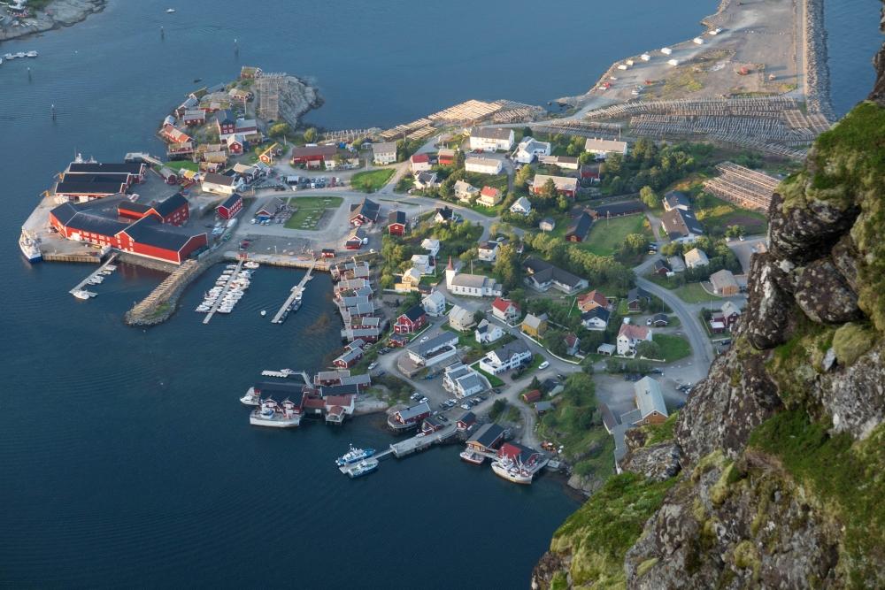 Reinebringen auf den Lofoten in Norwegen
