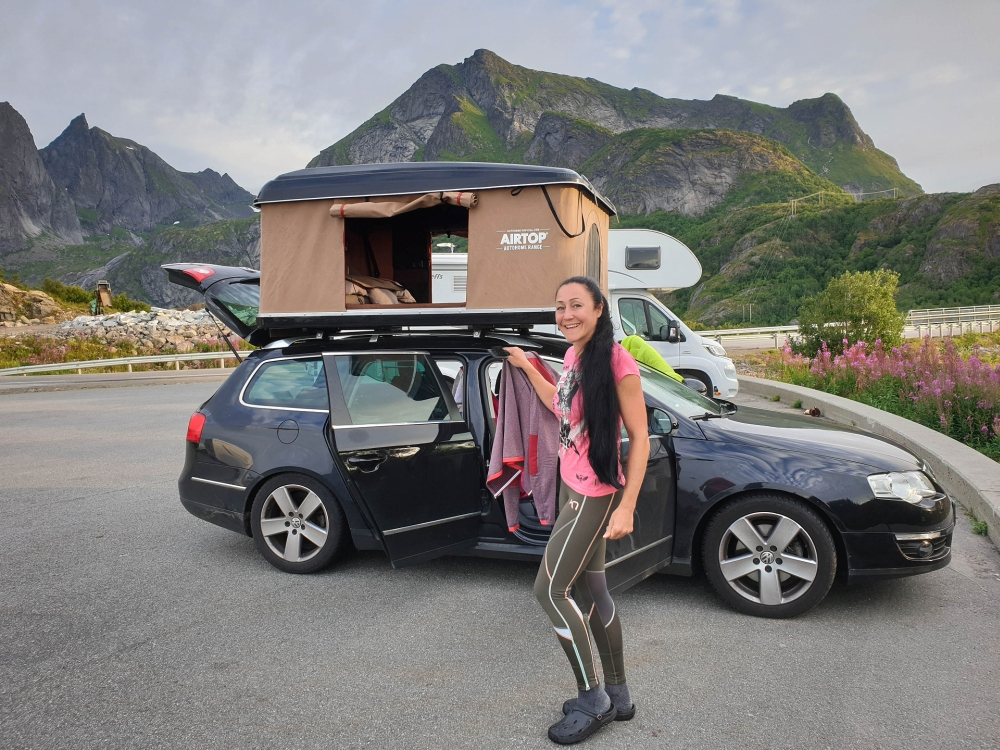 Moskenesøy auf den Lofoten in Norwegen