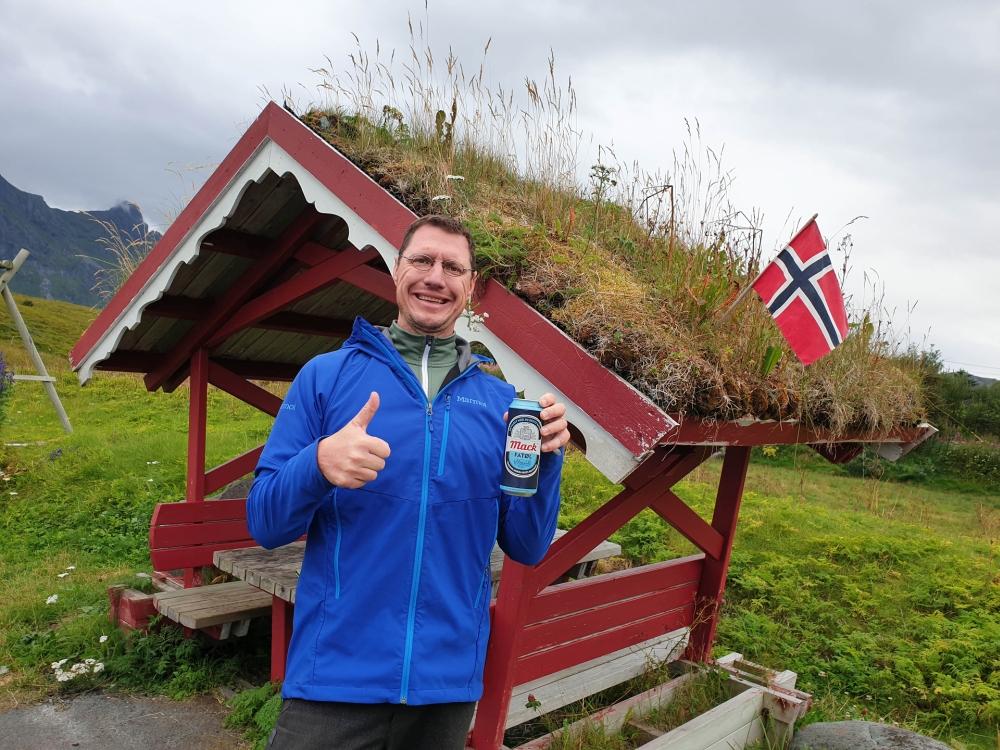 Flakstadøy auf den Lofoten in Norwegen