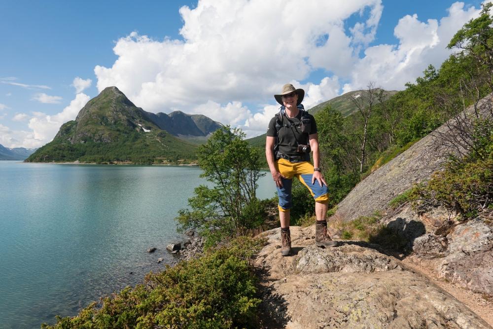 Gjende-See im Nationalpark Jotunheimen in Norwegen