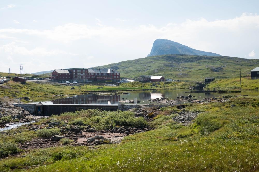 Bygdin-See im Østlandet in Norwegen