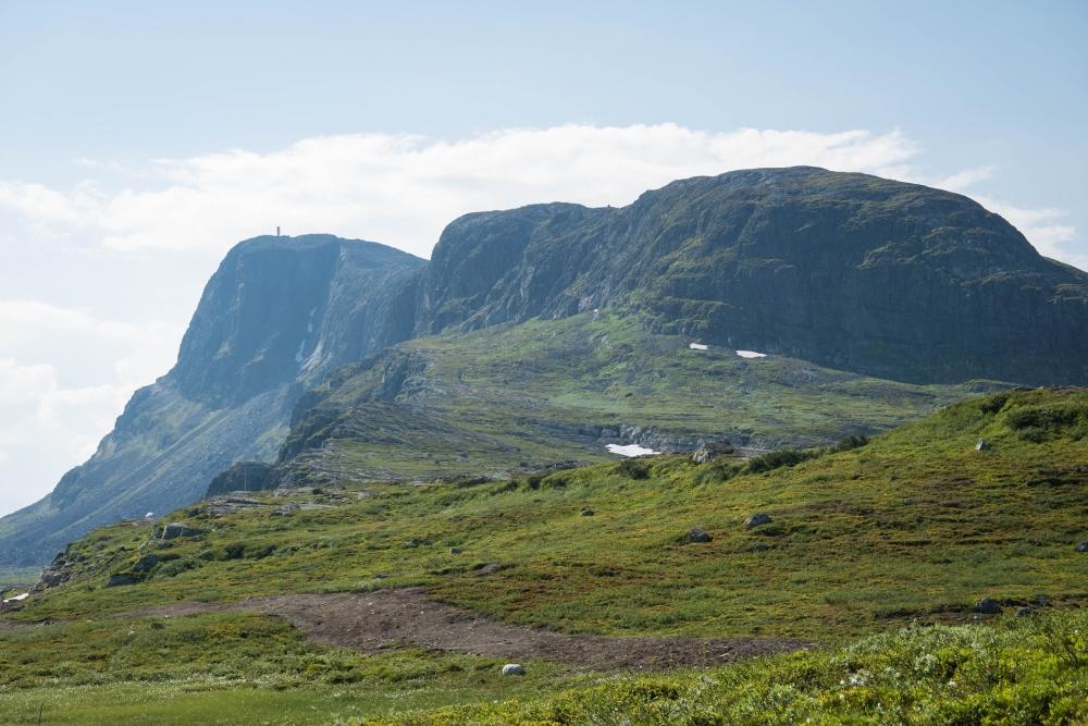 Bitihorn am Valdresflye im Østlandet in Norwegen