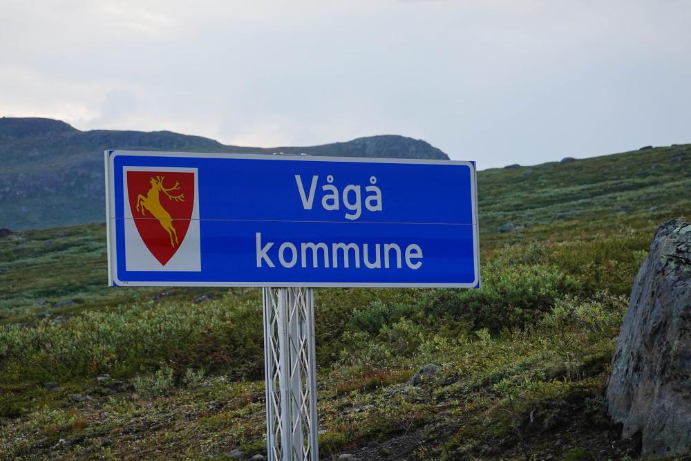 Valdresflye im Østlandet in Norwegen