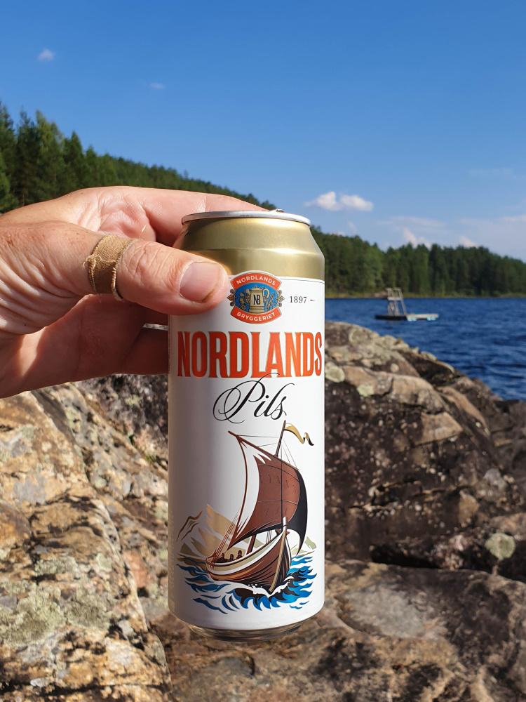 Sperillen im Ådalen im Østlandet in Norwegen