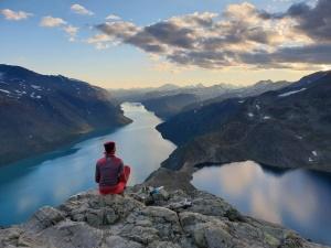 Besseggengrat im Nationalpark Jotunheimen in Norwegen
