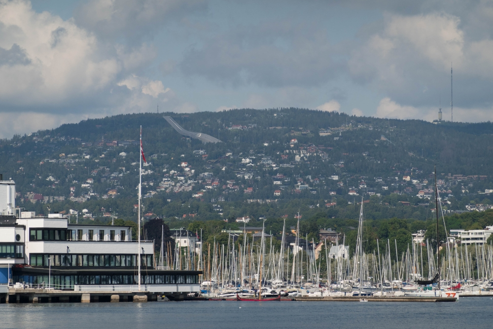 Bygdøy in Oslo in Norwegen