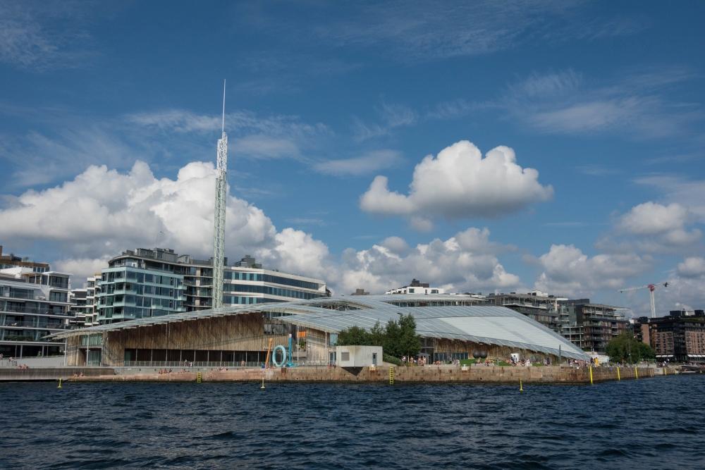 Tjuvholmen an der Pipervika in Oslo in Norwegen