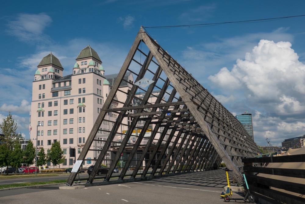 Björvika in Oslo in Norwegen