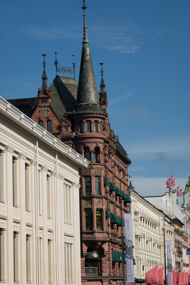 Karl Johans Gate in Oslo in Norwegen